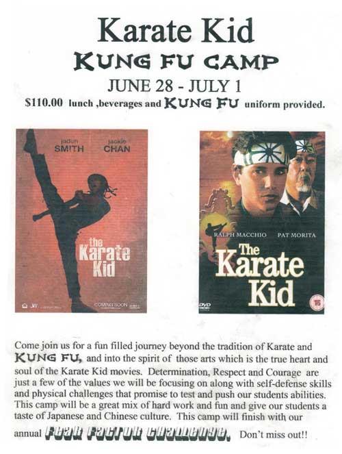 Karate-Kid Kung Fu Camp